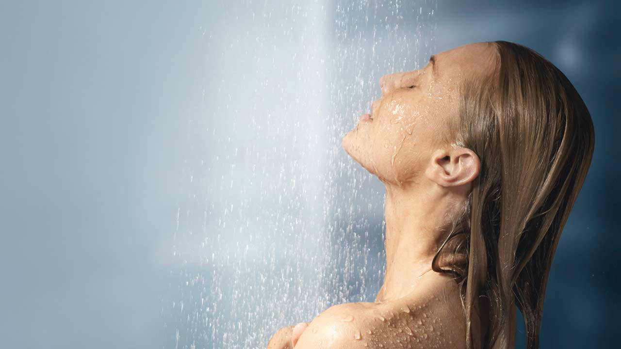 Banho quente e acne